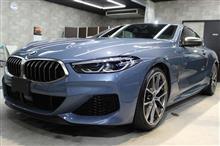 「20年ぶりの8」BMW M850i xDriveクーペのガラスコーティング【リボルト郡山】
