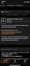 ios13 beta3になった。