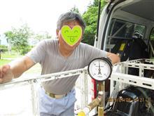 5インチ蒸気機関車 4回目のボイラー検査無事合格の巻っき~
