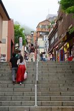 群馬Touring!365段の階段と足湯(温泉街編)♪