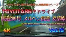 国道299号メルヘン街道麦草峠の3倍速4K車載動画アップ