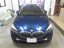 BMW 2シリーズ アクティブツアラー、採寸&装着確認(完成)