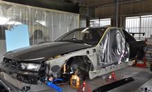 BNR32 GT-R -ボディ補強の巻-