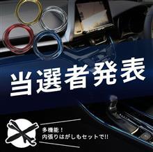 【シェアスタイル】🎁当選者発表🎁車内をラグジュアリーな空間に♪インテリアモール&内張りはがしセット 5名様
