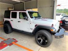 Jeep JLラングラー ボディーコーティング施工