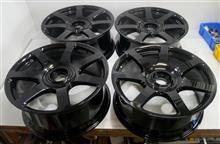 ロールスロイス純正21インチ鋳造パウダーコートベース調色溶剤ダイヤモンドブラック再塗装