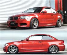 BMW 135iクーペ E82 UC35 車高調 『 Best☆i 』 開発完了です