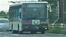 近江バス西工中型幕車