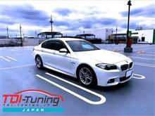 【BMW 523d LDA-FW20 ディーゼルサブコンTDI Tuning】インプレ頂きました。