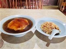 久しぶりに超レトロ中華料理屋にて天津麺と炒飯を愉しむ