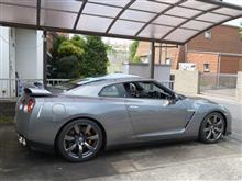 R35 GT-Rの超久々の洗車