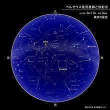 ペルセウス座流星群2019