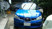 久々の洗車。(^_^)