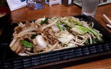 晩ごはんはしょうが焼き定食( *´艸)