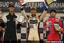 沖縄から全日本ジムカーナに参戦のあの男がまたまた大偉業を達成!