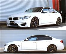 BMW M3 F80 3C30 全長調整式車高調 『 Best☆i 』 開発完了です(^^)v