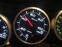 Defi リンクメーター BF 油圧計