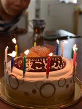 手料理で息子の誕生日 パーティ♪