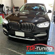 【BMW X3 20d(G01) LDA-TX20 ディーゼルサブコンTDI Tuning】インプレ頂きました。
