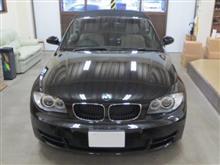 BMW 1シリーズ(初代)カブリオレ、採寸&装着確認(完成)