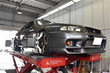 R33 GT-R アライメント調整(^^)/