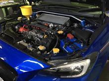WRX STi エンジン強化、マフラー交換!!
