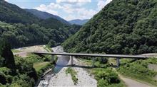 かおれ大橋,馬瀬川,吊り橋【橋めぐり】岐阜県,下呂市