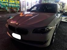 BMW:F10にダブルスポーク350Mをお取り付け! FIT都筑店です(*'▽')