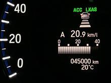 祝! 45,000km アコードハイブリッド