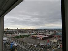 天気は回復しつつ   #富山 #ホテルルートイン富山インター