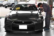 R35 GT-R 磨き^^