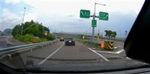 9月11日の金沢行き(東海北陸道:美濃関JCT→ひるがの高原SA) #Volvo #ドラレコ #東海北陸道 #車線規制