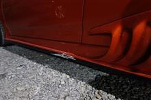 【トヨタ セリカ ワンオフ加工品サイドステップ割れ 修理・塗装】 東京都調布市よりご来店のリピーター様です