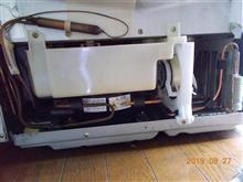 日立製の冷蔵庫を修理?しました