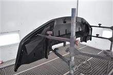 R34 リップスポイラー修理(^^)/