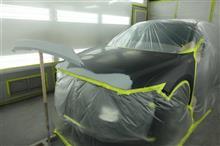 【マツダ CX-5(46G) 前まわり飛び石キズ修理(車両保険)】 神奈川県よりご来店のリピーター様です