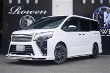 新車VOXY ROWENコンプリート 店頭納車!