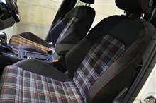 GTI伝統のシートをコーティング!VW・ゴルフGTIの内装コーティング【リボルト湘南】