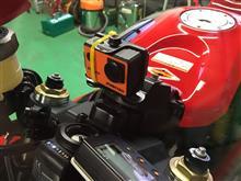 CBRの車載カメラステー