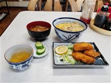初訪問の安城のレトロ食堂にてカツ丼と豚汁を愉しむ