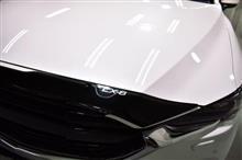 フロントグリルカバーが印象的!!マツダ CX-8のガラスコーティング【リボルト川口】