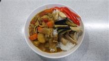 10月14日の夜は野菜たっぷりのカレー  #カレー #ステーキしょうゆ