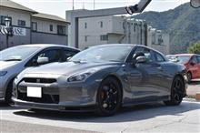 R35 GT-R コーティングメンテ&アライメント&オイル交換(^^)/