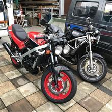 趣味のバイク屋仕事。vfr400z