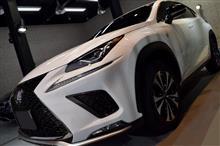 『機敏なスポーツギア、NX。』LEXUS NX300 F SPORTのガラスコーティング【リボルト札幌】