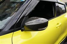 グレイスカーボンシリーズ ミラーカバー販売開始!