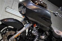 バイクコーティングで車両をリフレッシュ!ハーレーダビッドソン・ロードグライドのバイクコーティング施工【リボルト沖縄】