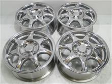ユーノスロードスター純正14インチ鋳造(CAST)再ポリッシュバレル3次元研磨パウダーアクリルクリアー