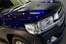 世界に誇るキング・オブ・SUV!トヨタ・ランドクルーザーのガラスコーティング【リボルト湘南】