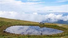 長野県 大鹿村にある天空の池